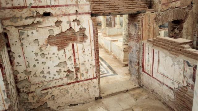 Abandoned houses in Ephesus video