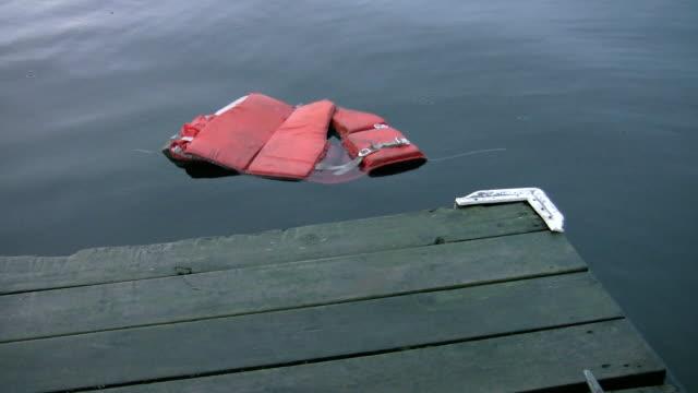 Abandoned lifejacket. video