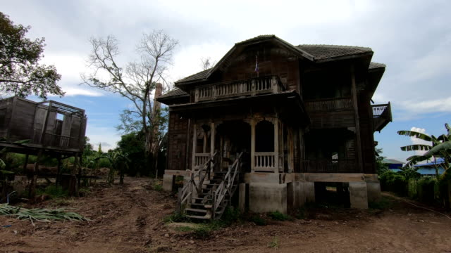 abandoned old house on twilight abandoned old house on twilight mansion stock videos & royalty-free footage