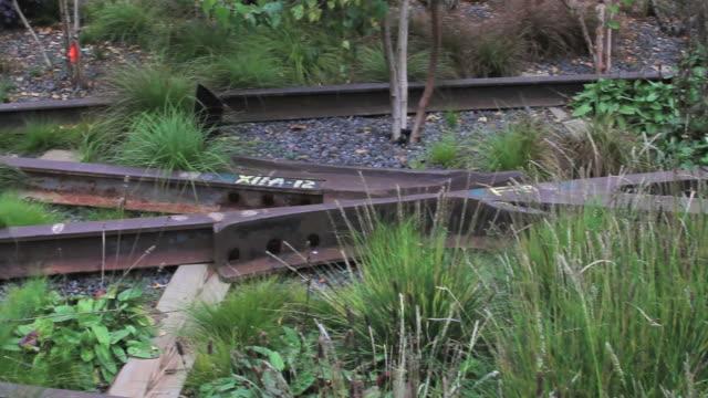 Abandoned Old Train Tracks HD