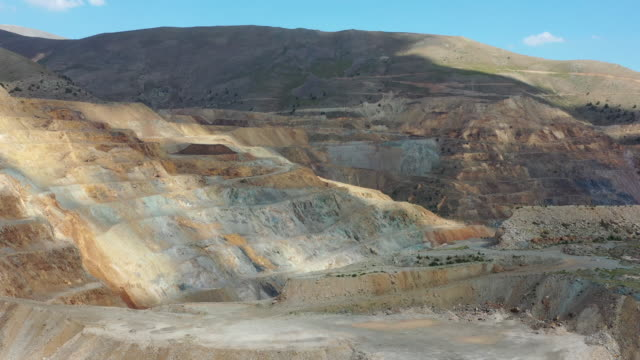 Abandoned open-pit mine