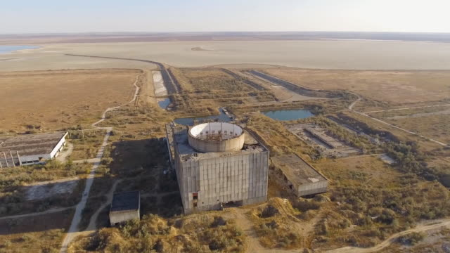 Abandoned Unfinished Nuclear Power Plant