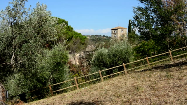 Abbey of Farfa (Lazio, Italy) - It's one of the most famous catholic abbeys of Europe of Benedictine Order, near Rome. video