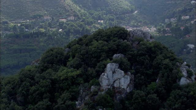 サンマルティーノ修道院-航空写真シチリア、州の パレルモ 、monreale,イタリア - モンレアーレ点の映像素材/bロール