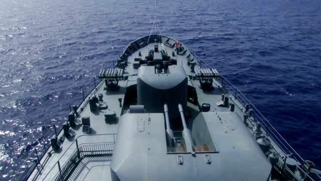 aboard a warship video
