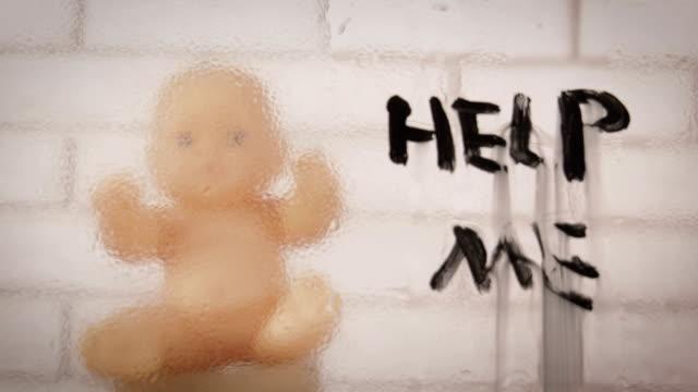 Abtreibung. Ungeborenes Baby. – Video