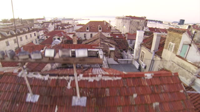 above split - medieval architecture stock videos & royalty-free footage