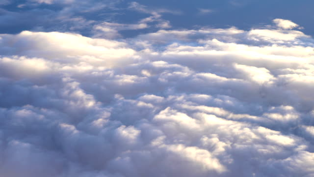 Above the Clouds from Aircraft Point of View video