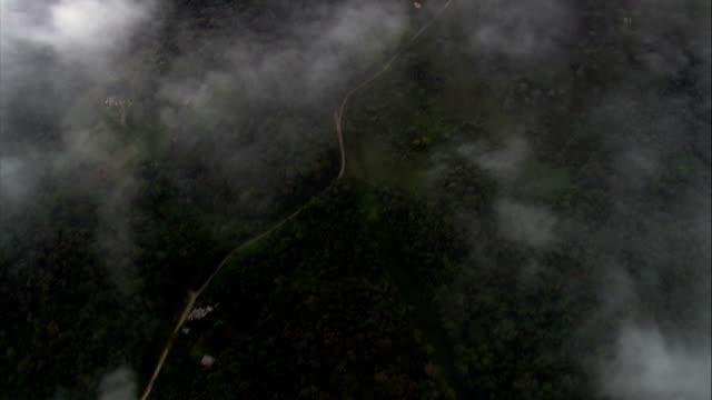 Above the Clouds Over Serra Da Graciosa  - Aerial View - Paraná, Quatro Barras, Brazil