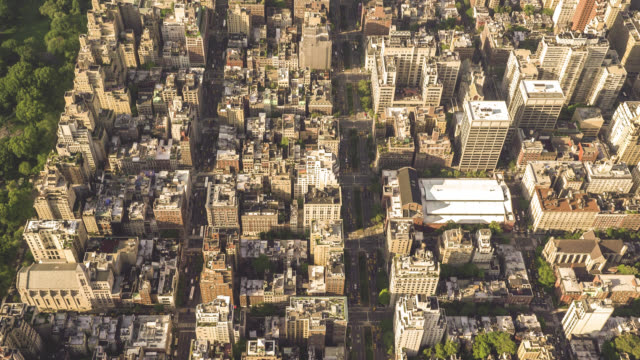 Above the Upper East Side of New York City 4K Aerial filmed above the Upper East Side from a helicopter. east stock videos & royalty-free footage