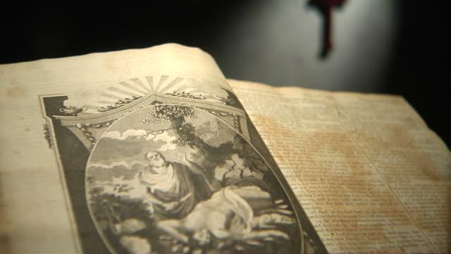 abraham's faith tilt down hd - lithograph stock videos & royalty-free footage
