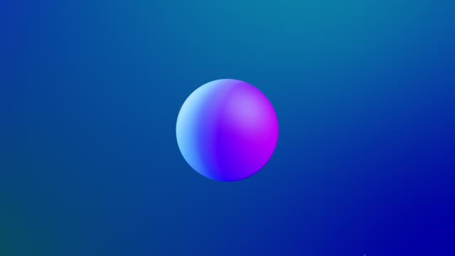 abstract 3d background with beautiful rainbow colors gradient on wax bubbles metaball, spheres fly in air with inner glow, merge like drops of melt wax. video
