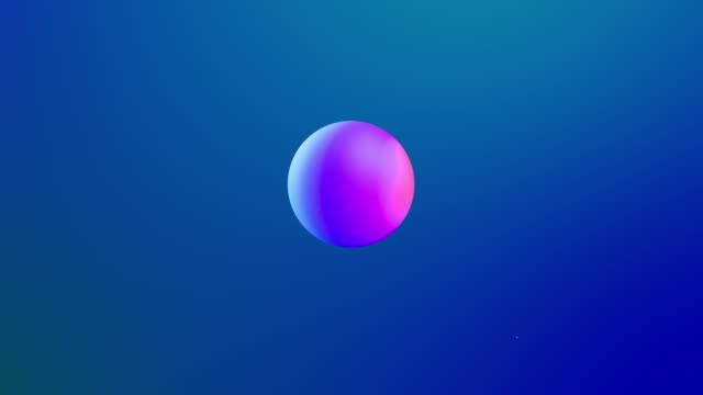abstract 3d background with beautiful rainbow colors gradient on wax bubbles metaball, spheres fly in air with inner glow, merge like drops of melt wax. 17 video