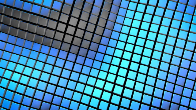 Abstract 3d Cube Corporate Video Background Loop video