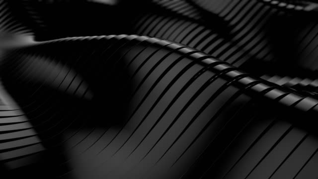 abstract 3d wavy lines - abstract architecture стоковые видео и кадры b-roll