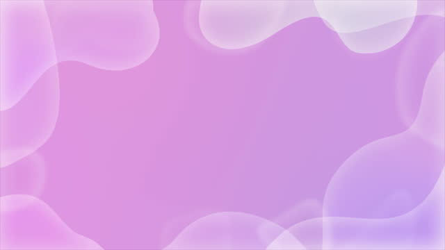 Abstract animated background.  frame of wavy shapes. modern design layout for presentations. Stock seamless looped animation in 4k