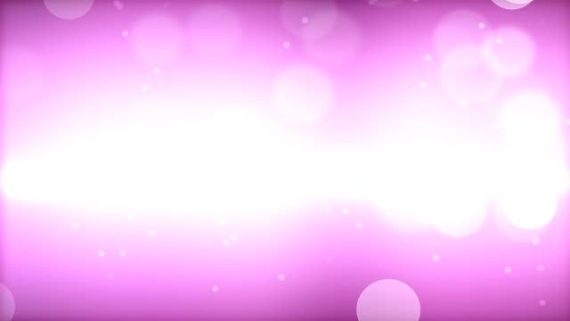 Abstract Animated Bokeh Lights Background - 4K video
