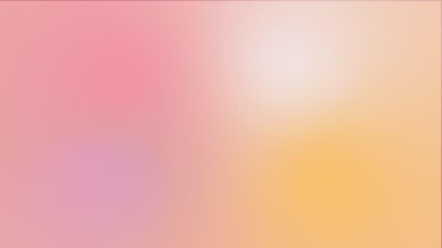 vídeos de stock e filmes b-roll de abstract animated color gradients background - encosta