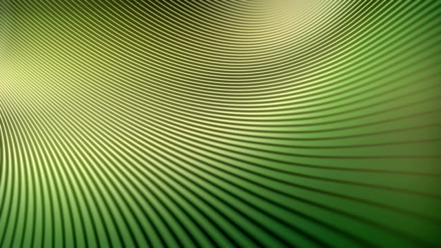 Abstract animation background with wavy colored lines. 3d rendering. 4k UHD