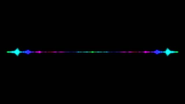 vidéos et rushes de résumé l'égaliseur audio visualizer. toile de fond illustration numérique - image teintée
