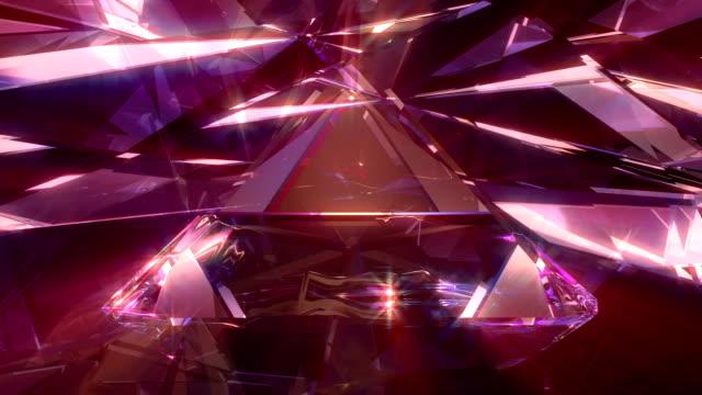 abstrakt bakgrund 4k - kristall bildbanksvideor och videomaterial från bakom kulisserna