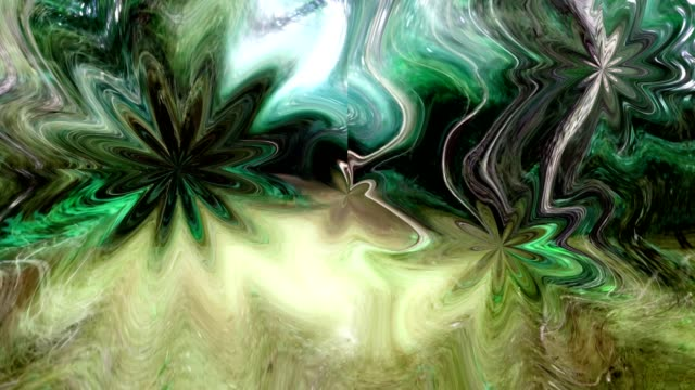 Abstract  background in colorful hues of green, brown. video