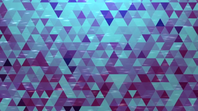 Abstract baюckground loop of triangle Abstract background loop of triangles in a geometric pixelated mosaic tile pattern. post modern architecture stock videos & royalty-free footage