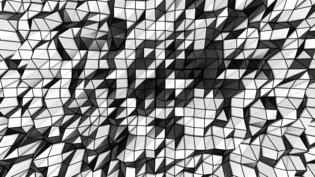 Abstract Background Loops - 4 Variations Black & White (HD) video