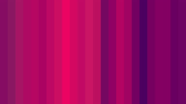 Abstract background of color-changing stripes in different shades of pink