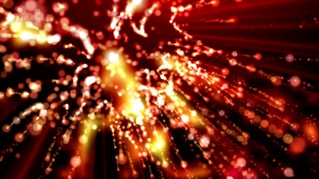 абстрактный фон - new year стоковые видео и кадры b-roll