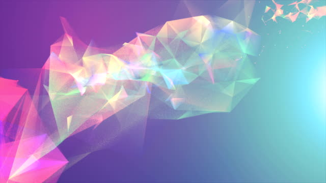 abstrakter hintergrund - cosmic abstract background with stock-videos und b-roll-filmmaterial