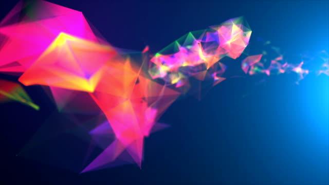 Arrière-plan abstrait - Vidéo