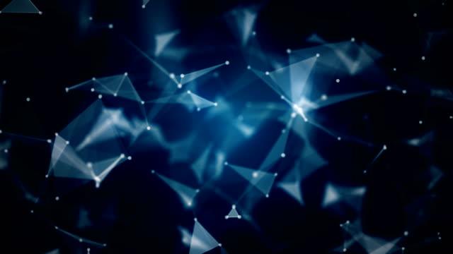 abstrakt hintergrund (endlos wiederholbar) - cosmic abstract background with stock-videos und b-roll-filmmaterial