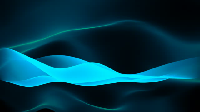 abstract background - waves (loop) waving abstract background 3D motion graphics; loopable wave pattern stock videos & royalty-free footage