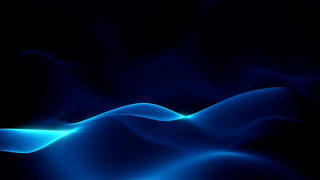 abstract background - waves (loop) waving abstract background; loopable blue background stock videos & royalty-free footage