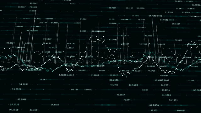 abstract background with animation of growing charts - инфографика стоковые видео и кадры b-roll