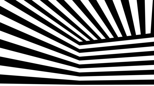 abstract background with black and white stripes - рисунок произведение искусства стоковые видео и кадры b-roll