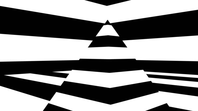 Abstract background with black and white stripes Abstract background with black and white stripes. Seamless loop mask disguise stock videos & royalty-free footage