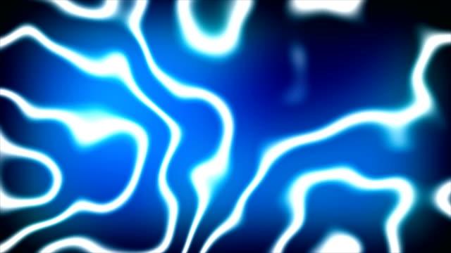 抽象的な背景エネルギー プラズマ。3 d レンダリング デジタル背景 - 尖っている点の映像素材/bロール