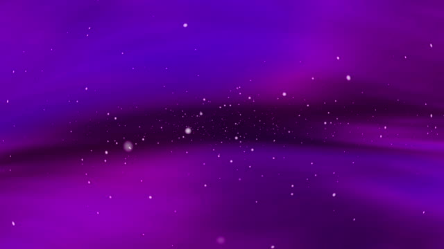 Abstract background with flying white paticles video