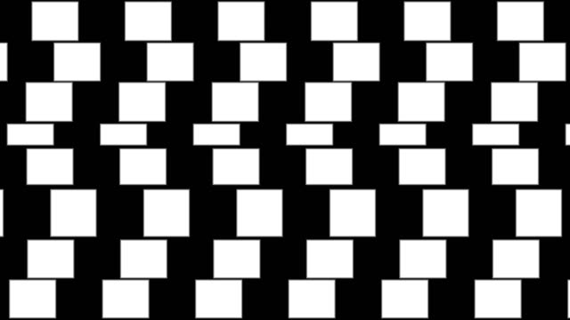 abstract background with geometric optical illusion pattern. - трюк стоковые видео и кадры b-roll