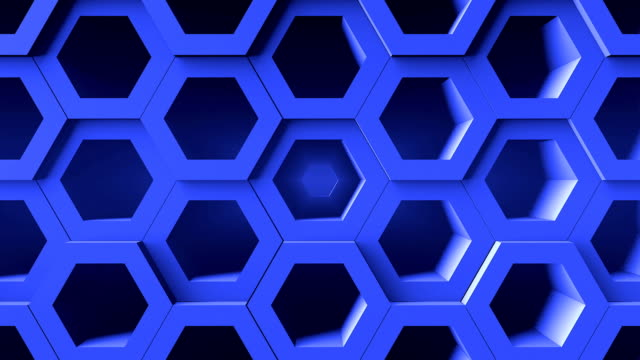 Abstract background with honeycomb. Digital backdrop Abstract background with honeycomb. Digital backdrop. Seamless loop arthropod stock videos & royalty-free footage