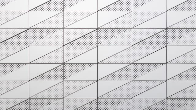 abstract background with horizontal and vertical stripes. Modern house wall, geometric lines and patterns. Metal details of building's facade. dolly camera movement abstract background with horizontal and vertical stripes. Modern house wall, geometric lines and patterns. Metal details of building's facade. dolly camera movement concrete architecture stock videos & royalty-free footage
