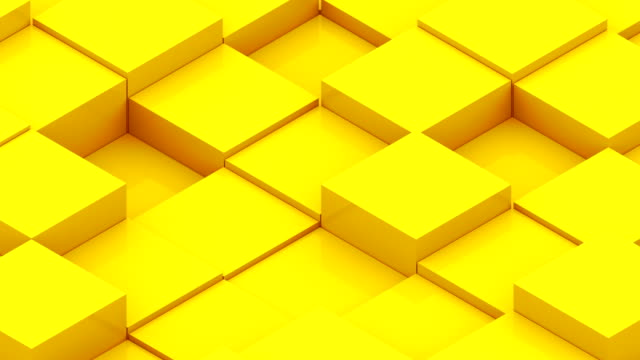 Abstract background with isometric cubes video