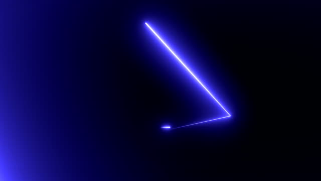 Abstract background with neon triangles Abstract background with neon triangles. Seamless loop geometric background stock videos & royalty-free footage
