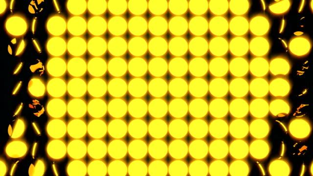 コインを 3 d 回転多くの黄色の行と抽象的な背景のレンダリング背景、コンピューター生成 - メダル点の映像素材/bロール