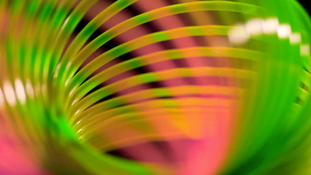 Abstract background/Red and green spiral lines background/Spiral background