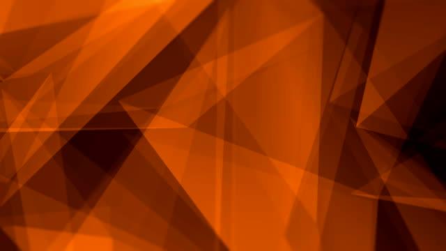 4k 추상적 인 배경 루프 가능 - 주황색 스톡 비디오 및 b-롤 화면