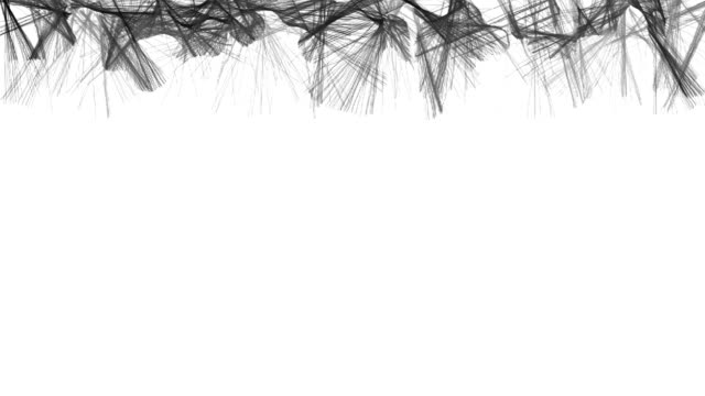 Abstract black and white animation on 23 February celebration video