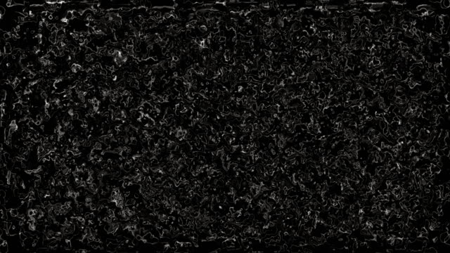 Abstract black and white liquid melting background. video